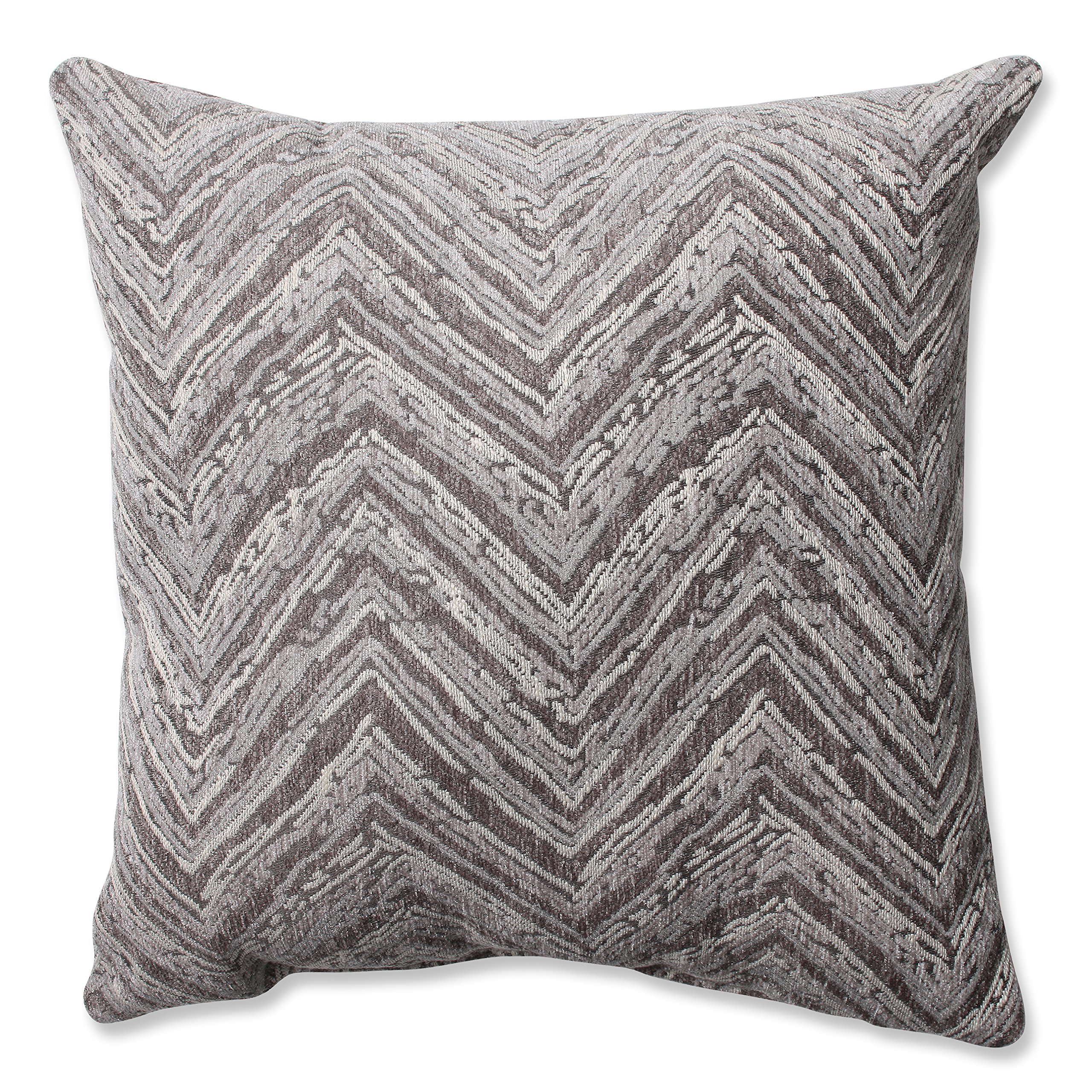 Pillow Perfect Union Driftwood Chenille Throw Pillow, 16.5-Inch