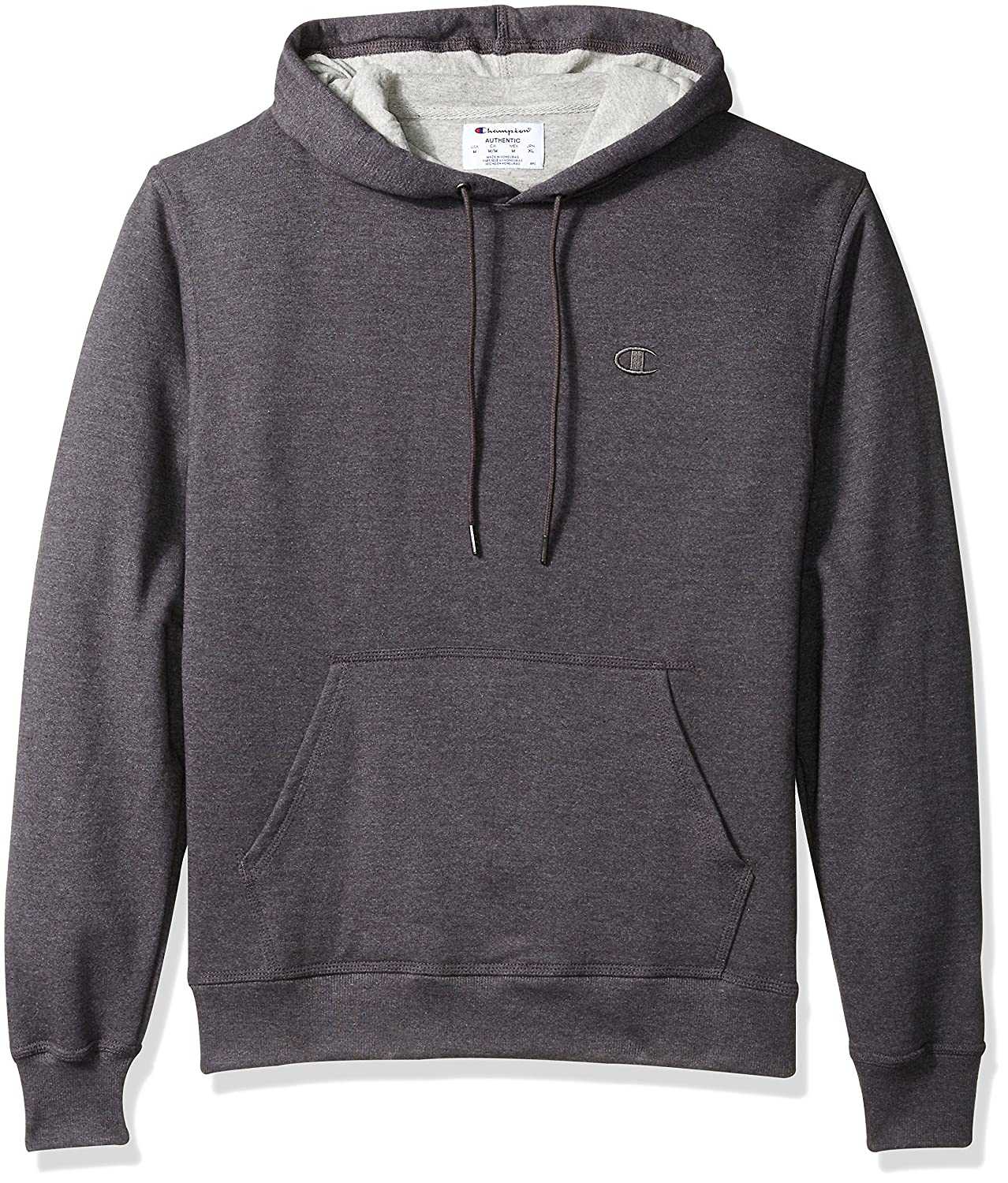 Champion Men's Powerblend Fleece Pullover Hoodie at Amazon Men's ...