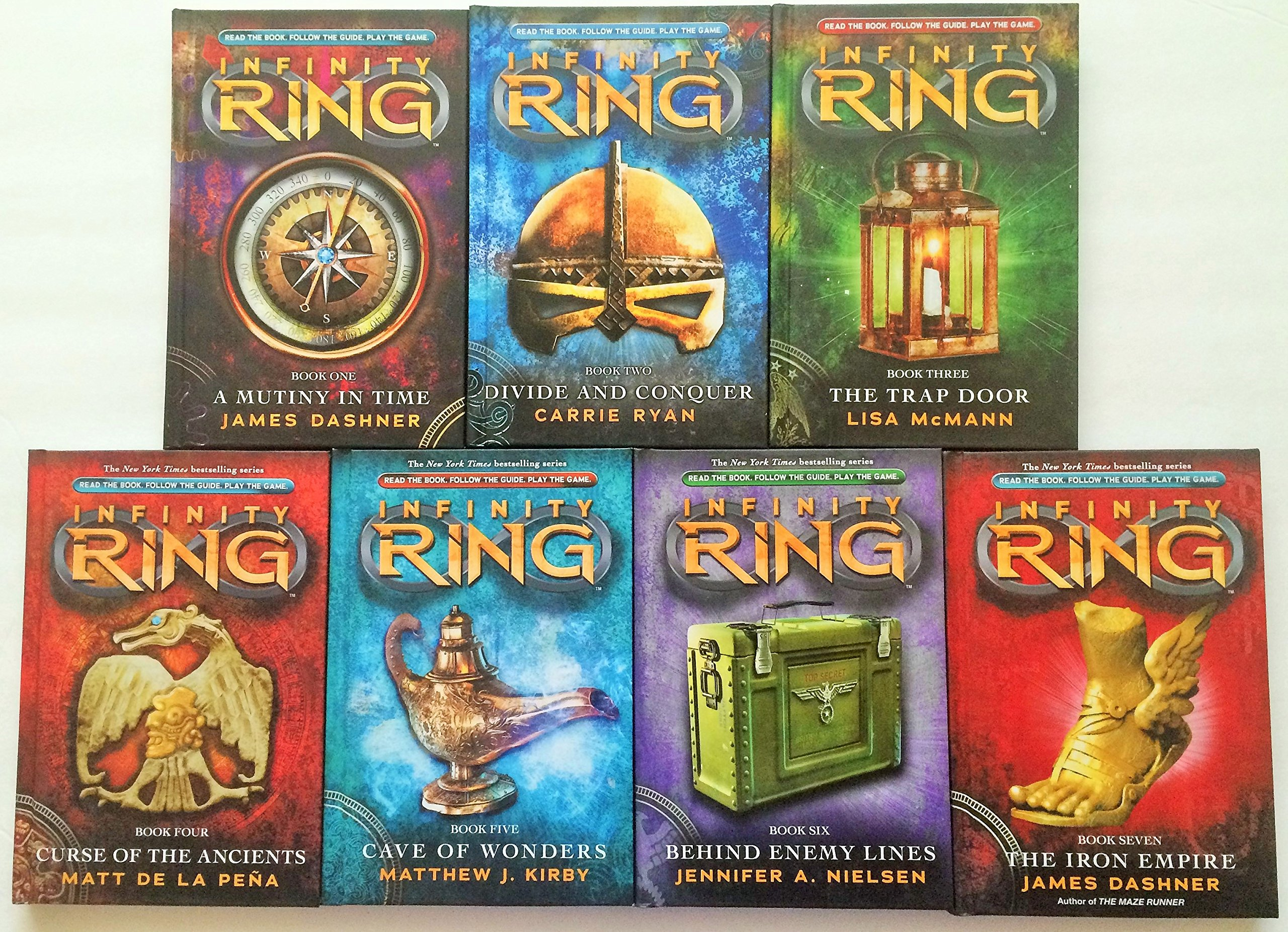 Ring infinity book series video