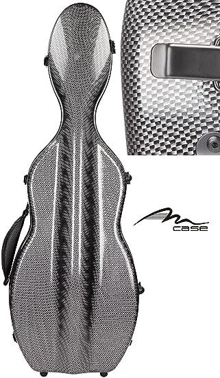 Estuche para violín fibra ultra Light 4/4 Carbon Looking M-Case
