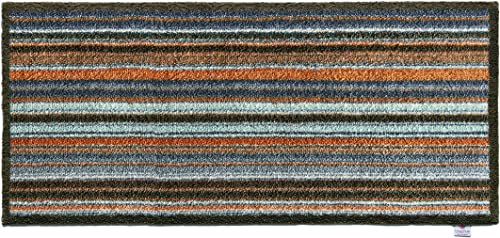 Bosmere Hug Rug Eco-Friendly Absorbent Dirt Trapping Indoor Washable Runner, 25.5 x 59 , Stripes
