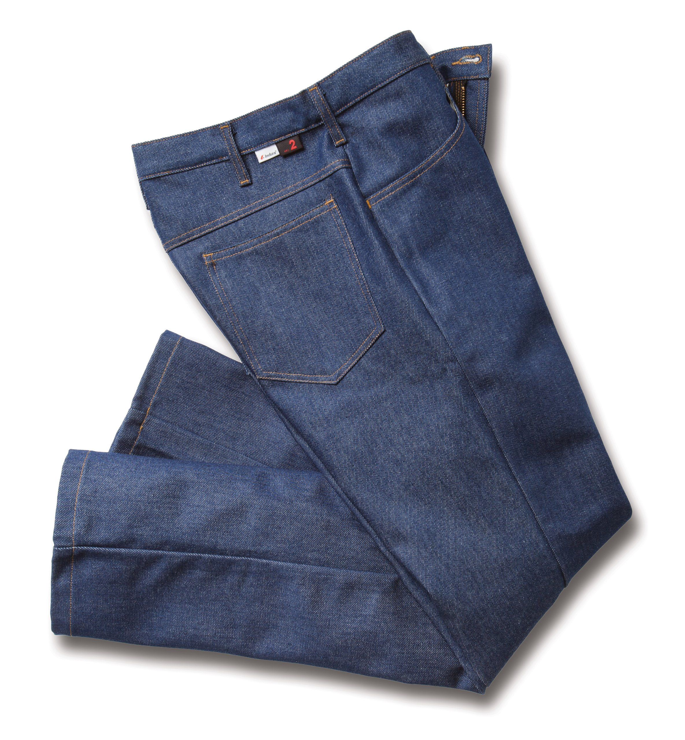 Workrite 428UT12SD36-30 Flame Resistant 12 oz UltraSoft Relaxed-Fit Jean Pant, 36 Waist Size, 30 Inseam, Soft Denim