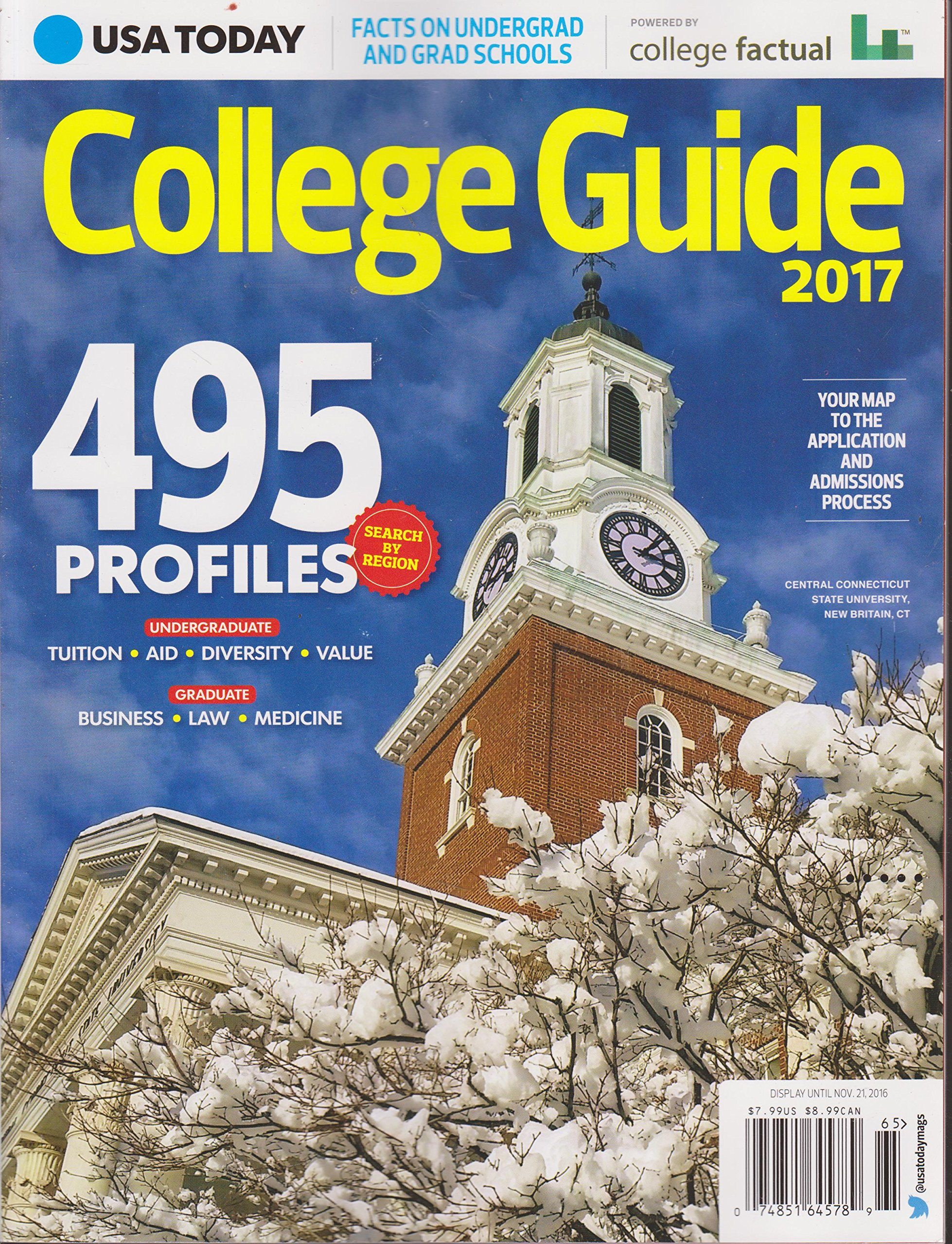 Read Online USA Today College Guide 2017 Text fb2 ebook