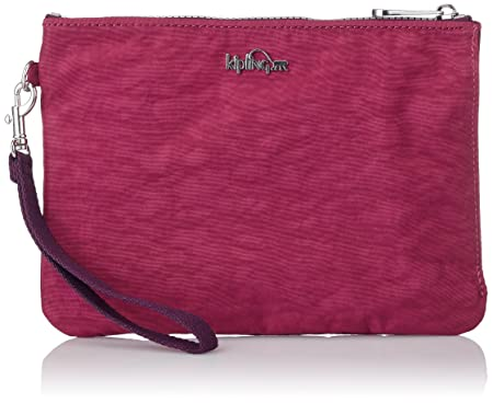 Kipling - ELLETTRONICO - Digital Pouch With Wristlet - Berry - (Violet)