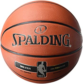 Ballon Spalding NBA Silver Outdoor: Amazon.es: Deportes y aire libre