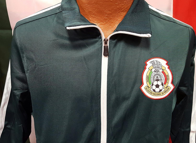 新しい。グリーンメキシコ国立チームジャケットWord Cup 2018サイズS B0787R6J6J