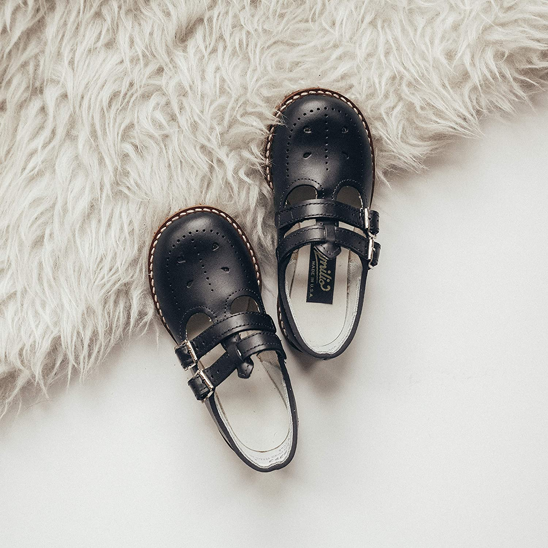 Amazon.com | Amilio Toddlers/Kids T-Strap/English Sandal/Dress Shoe - Skipper | Shoes