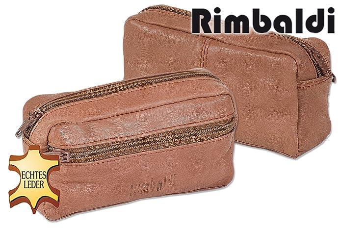 Bag Street Unisexe Sac cl/é Wallet Case en Cuir Bleu 10x0.5x6cm OPJ900B