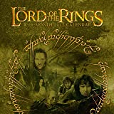 """Trends International 2017 Wall Calendar, September 2016 - December 2017, 11.5"""" x 11.5"""", The Lord of the Rings"""