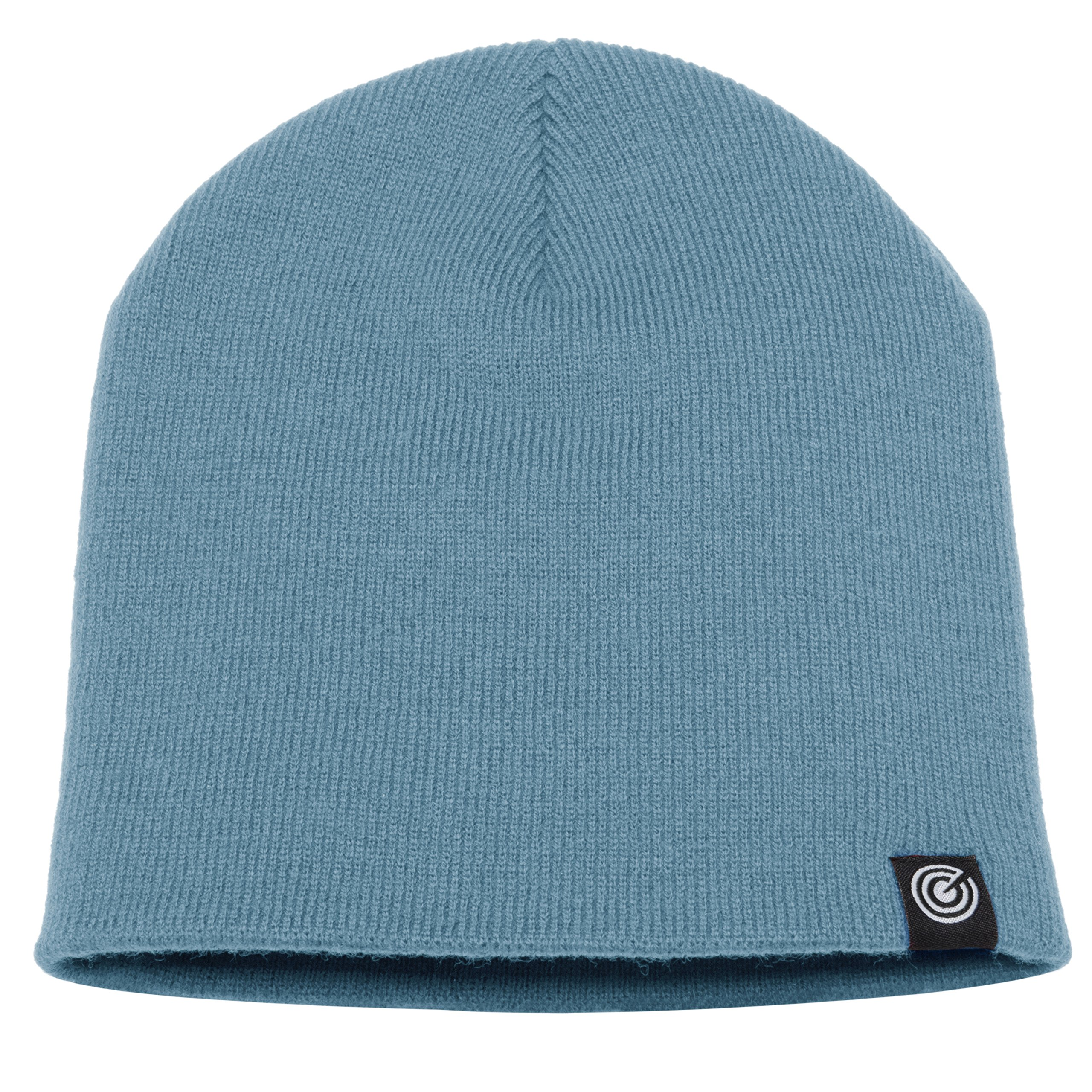 Evony Original Beanie Cap - Soft Knit Beanie Hat - Warm and Durable (Blue Denim)