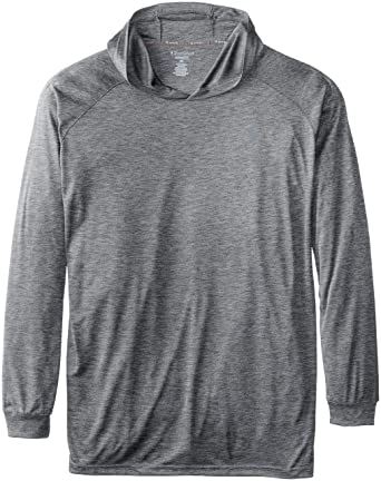 c4c1b01eb76c Amazon.com: Champion Men's Big-Tall Powertrain Hooded T-Shirt: Clothing