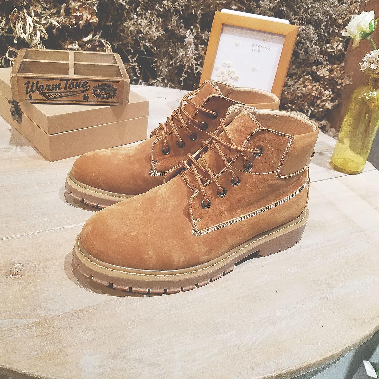 HL-PYL-souliers chinois pour aider les bottes Martin bottes bottes de travail rétro,38,kakis