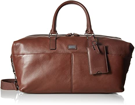 b8c162a1c4bf Amazon.com  Ted Baker Men s Tiger Leather Holdall  Clothing