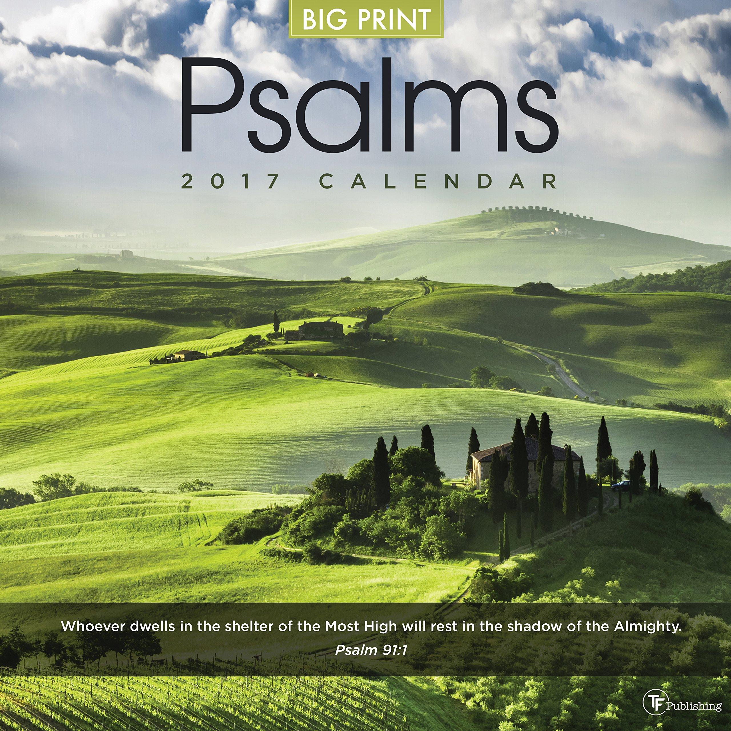 Download 2017 Psalms Wall Calendar PDF