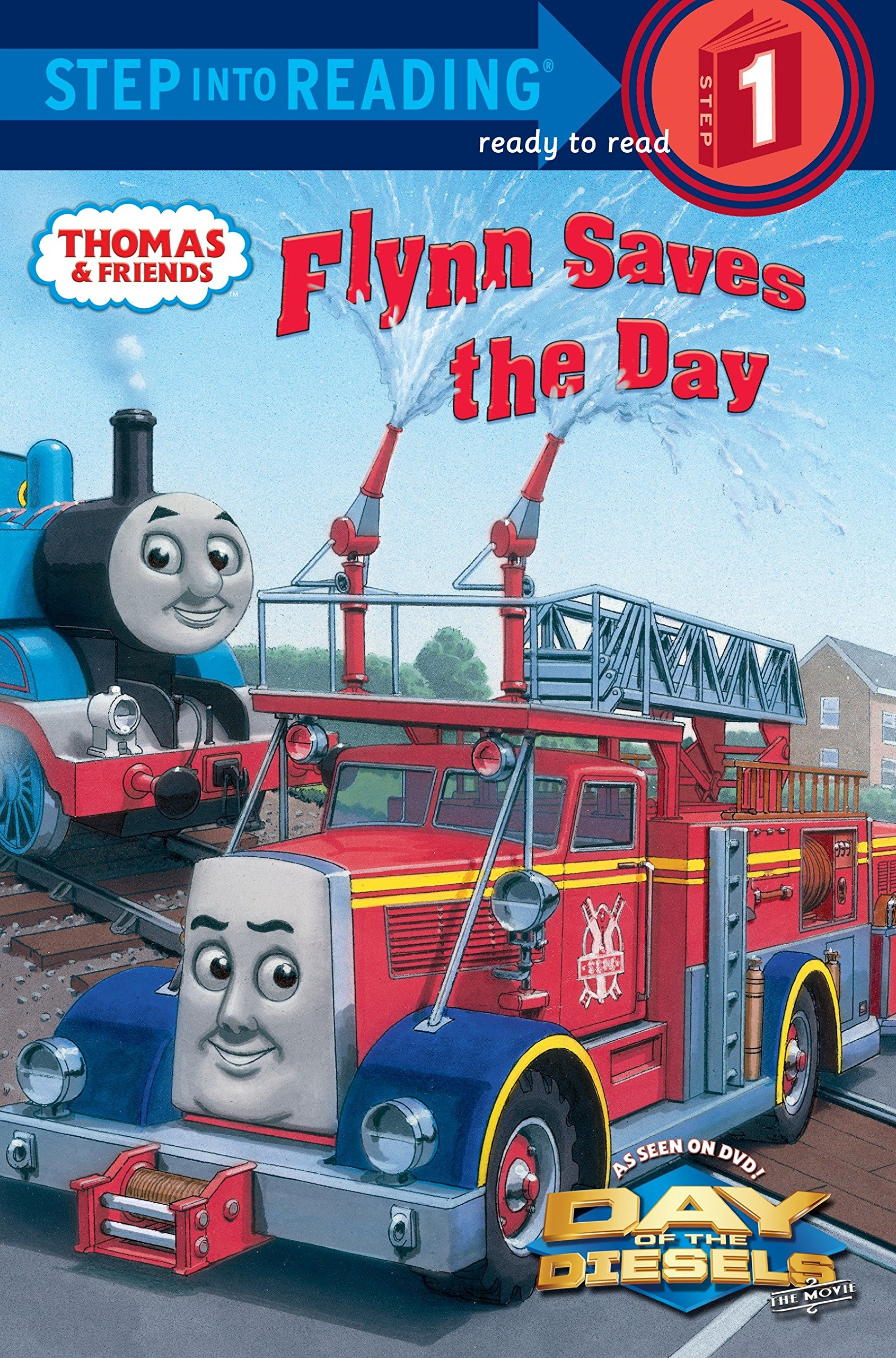 Flynn Saves the Day (Thomas & Friends) (Step into Reading) Paperback – August 9, 2011 Rev. W. Awdry Richard Courtney 0375869352 Media Tie-In