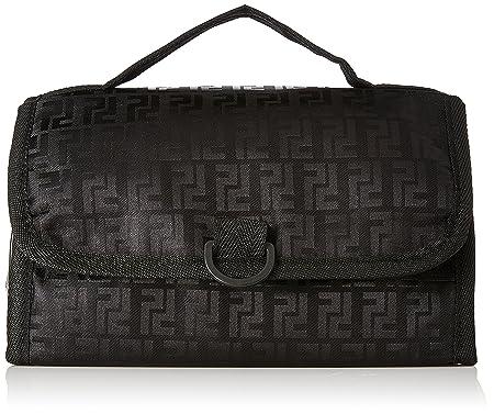 Kuber Industries Waterproof Travel Bag Beauty Make Up Toiletry Wash Bag Ki3282, Black Toiletry Kits