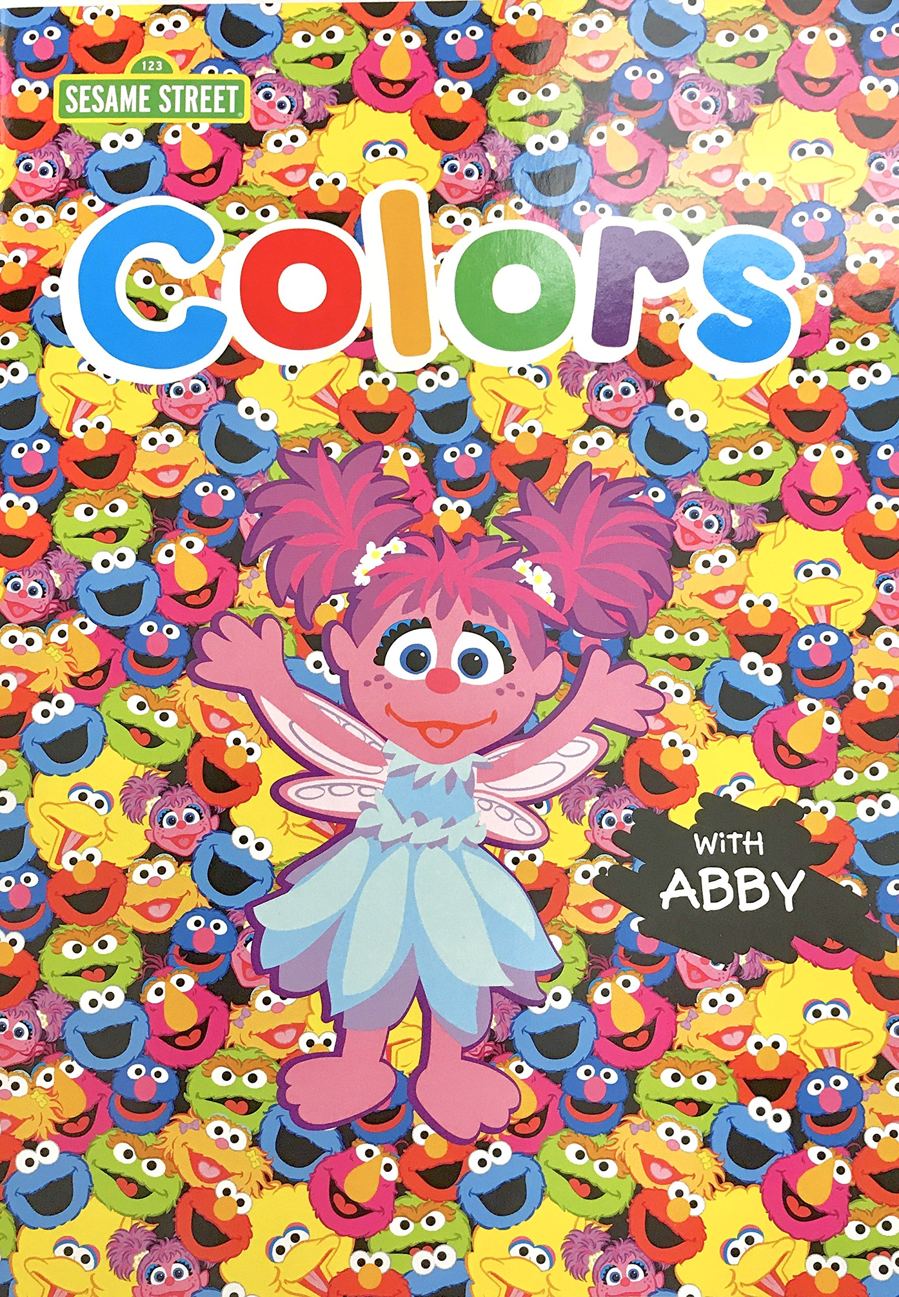 Sesame Street Educational Workbook Colors With Abby Cadabby