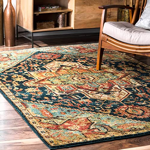 nuLOOM Tabetha Tribal Medallion Area Rug