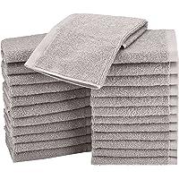 Amazon Basics Toallas pequeñas de algodón, 24 Unidades