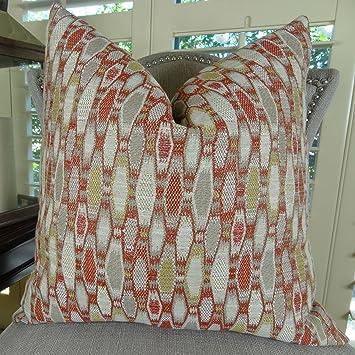 Amazon Thomas Collection Designer Decorative Throw Pillow Red Custom Designer Decorative Throw Pillows