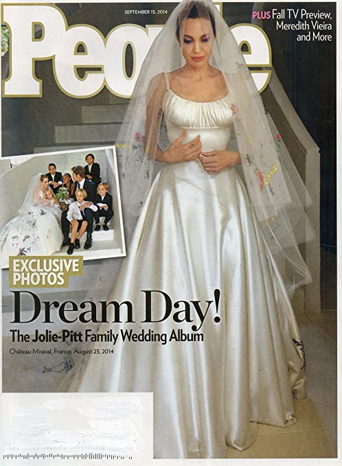 Amazon Com People Magazine September 15 2014 Angelina Jolie Brad Pitt S Wedding Exclusive Photos Of The Dream Day Posters Prints