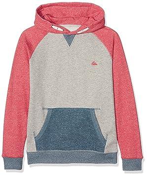 Quiksilver Rionegrohoyth - Sudadera para niño, Niño, Rionegrohoyth, rojo cardenal, 14 años: Amazon.es: Deportes y aire libre