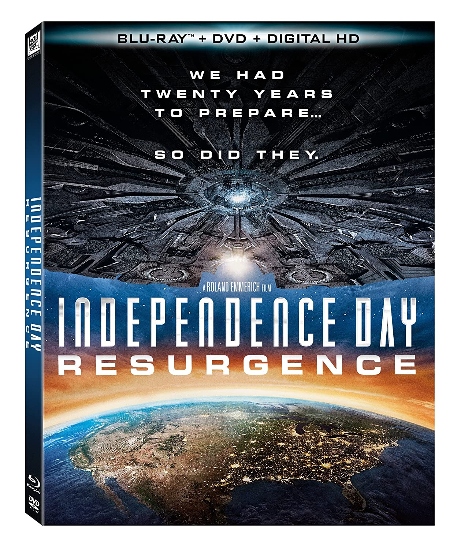 Amazon Com Independence Day Resurgence Bluray Dvd Digital Hd Blu Ray Jeff Goldblum Jessie T Usher Maika Monroe Sela Ward Liam Hemsworth Judd Hirsch Movies Tv