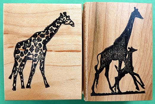 Giraffe Used rubber stamp View All Photos