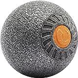 Relaxroll Faszienrolle Massagerolle xBall, Metallic Silber, R3000