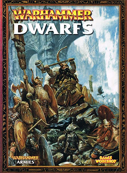 edition 8th warhammer dwarf army book