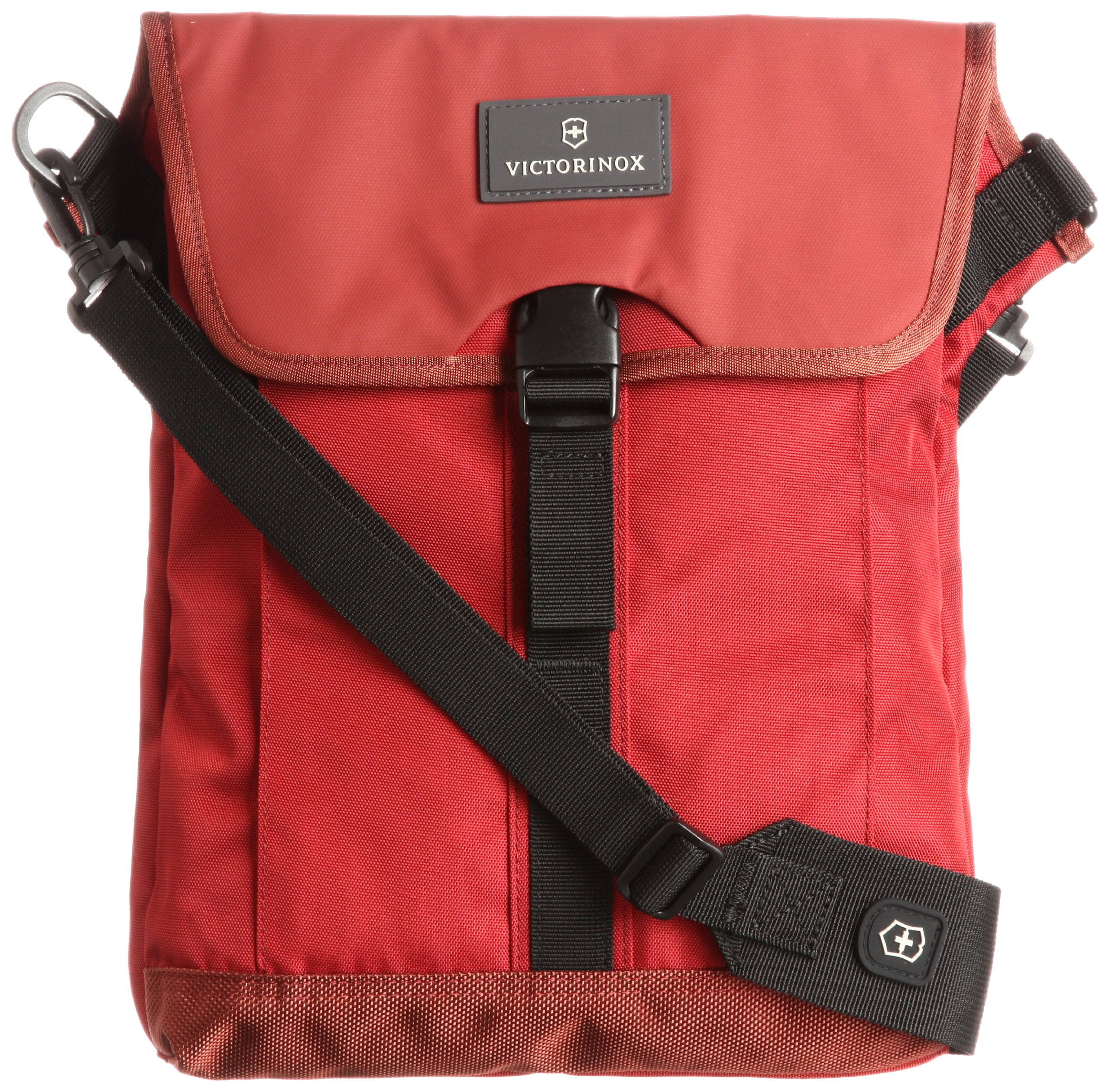 Victorinox Luggage Almont 3.0 Flapover Digital Bag, Red, One Size