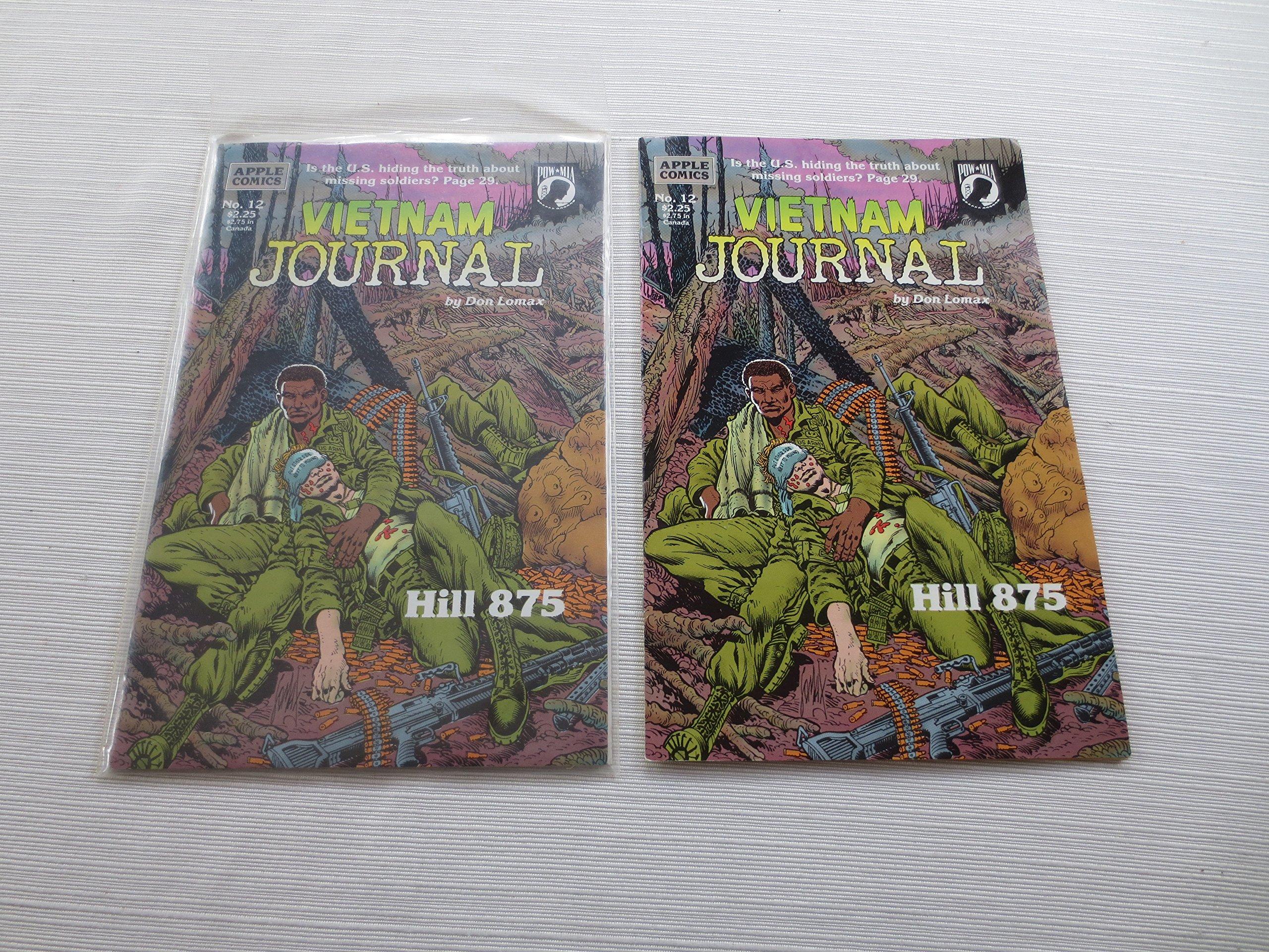 Vietnam Journal No  12: Hill 875: Don Lomax: Amazon com: Books