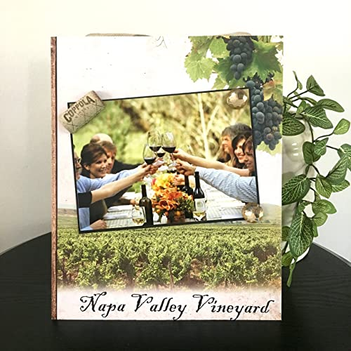 Amazon Napa Valley Vineyard Magnetic Picture Frame Handmade