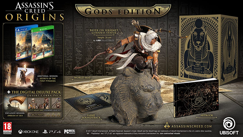 Assassins Creed Origins Gods Collectors Edition - Xbox One [Importación inglesa]: Amazon.es: Videojuegos