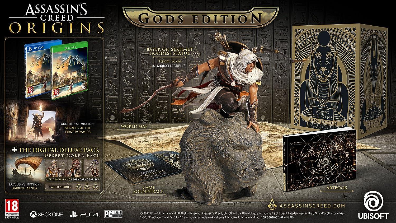 Assassins Creed Origins Gods Collectors Edition - Xbox One ...