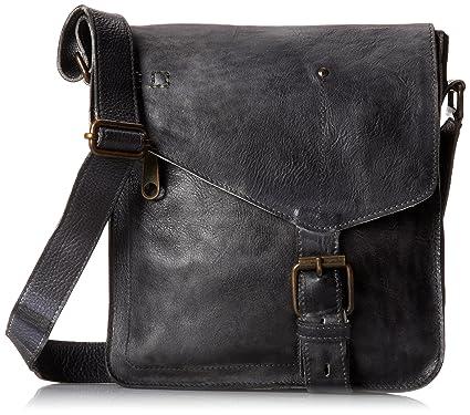 7c9a492bec7 Bed|Stu Women's Venice Beach Leather Bag (Black Rustic): Handbags ...