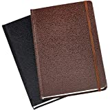 AmazonBasics Shagreen Journal, 2-Pack