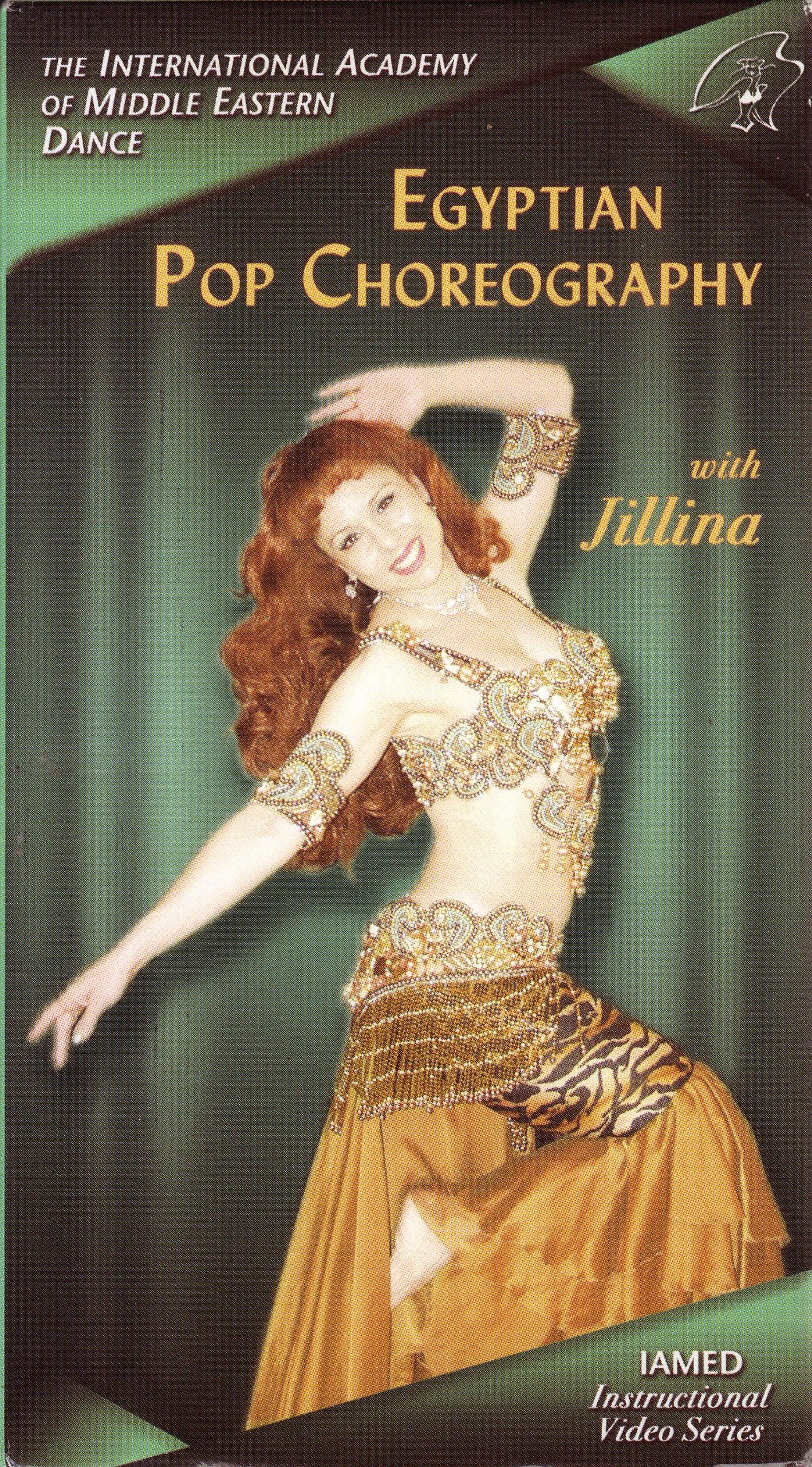 Egyptian Pop Choreography, Belly Dance Instructional Videotape [VHS]