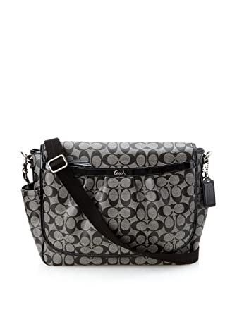 6bfca7a0d5 Amazon.com   Coach Coated Canvas Messenger Baby Bag