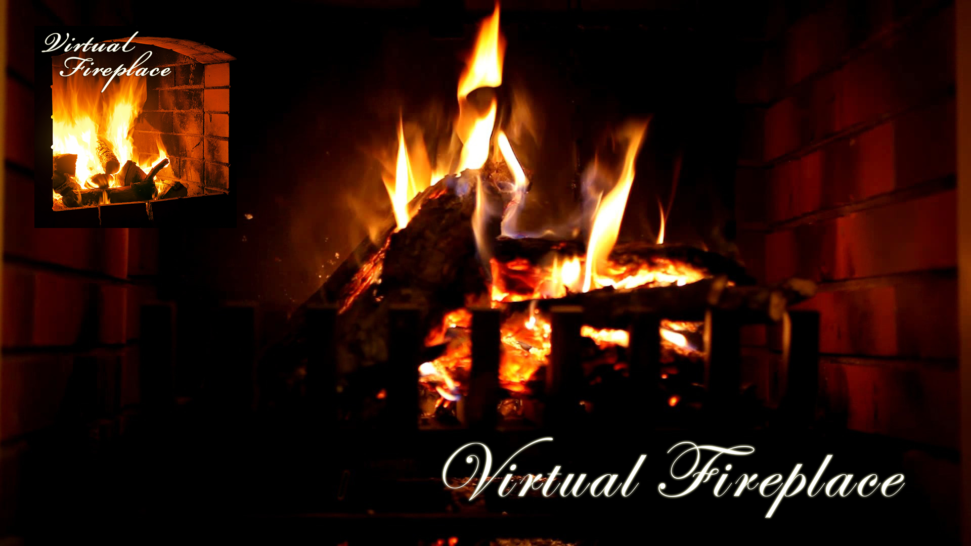 the interesting fireplace animation. the interesting fireplace animation l