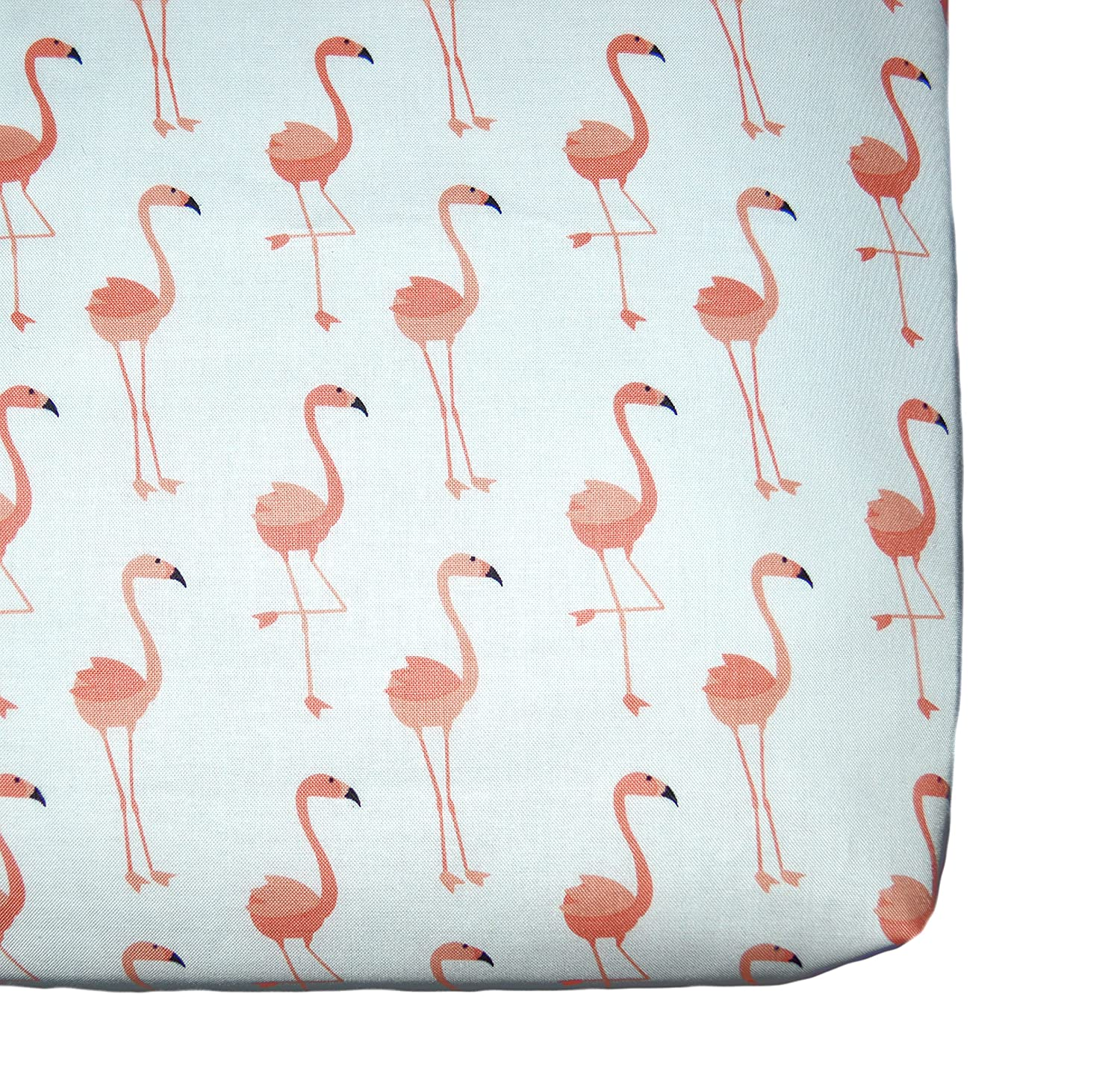 Amazon.com: Flamingos fitted crib sheet, bird nursery theme, coral baby  bedding by Sprinkled With Kisses: Handmade - Amazon.com: Flamingos Fitted Crib Sheet, Bird Nursery Theme, Coral