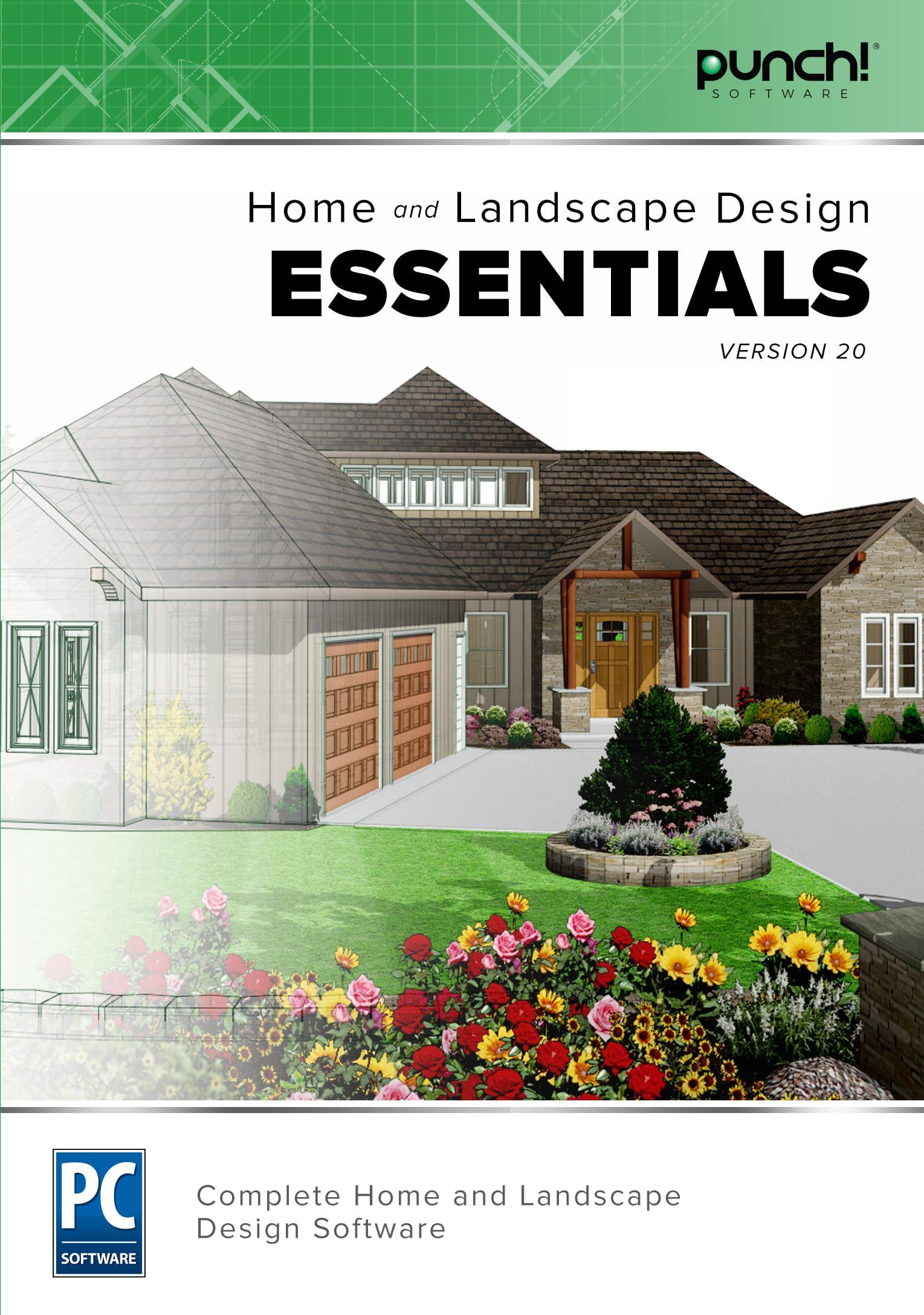 Amazon Com Punch Home Landscape Design Essentials V20 Download Software