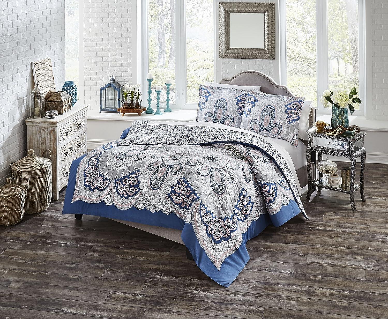 Amazon Com Boho Boutique Serene Comforter Set Twin Extra Long