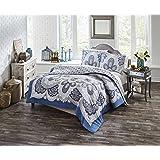 Boho Boutique Serene Comforter Set, Twin Extra Long, Blue