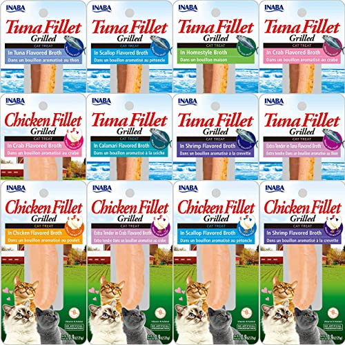 INABA Ciao Grilled Fillets in Broth Cat Treats