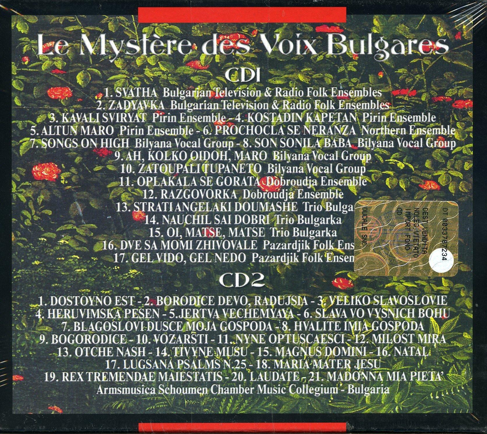 Mystere Des Voix Bulgares by Le Mystere des Voix Bulgares