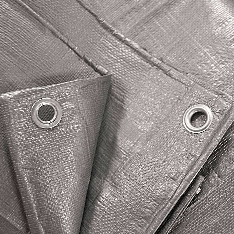 ALEKO TR20X30BL Multi-Purpose Polyethylene Plastic Tarp Waterproof for Camping Automotive Construction 20 x 30 Feet Blue