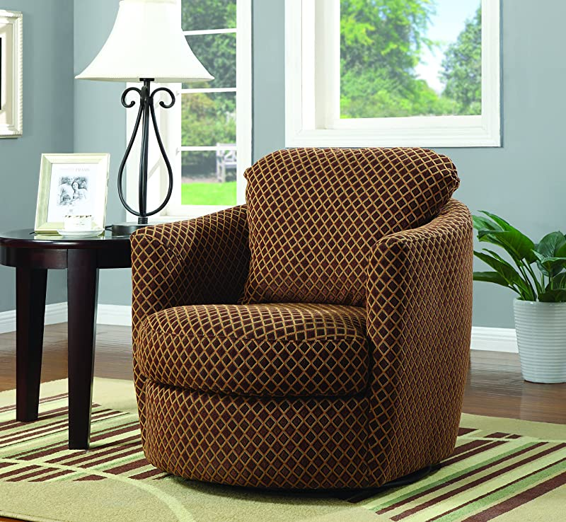 Coaster Swivel Chair for bedroom