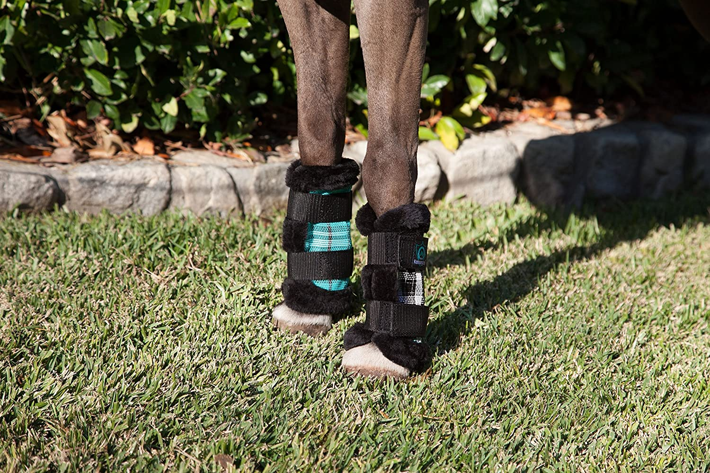 Black Ice Kensington KPP Miniature Horse Fly Boots