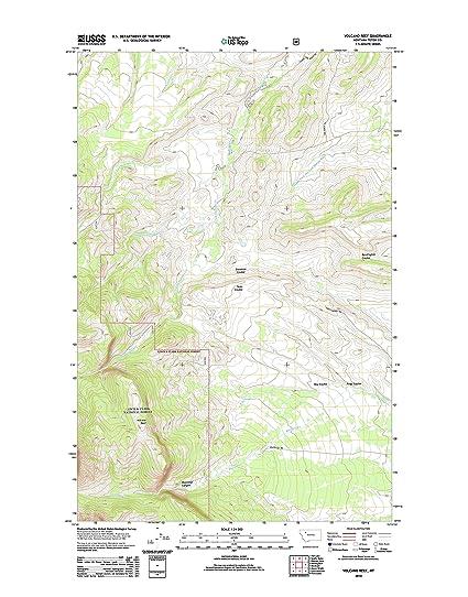 Volcano Topographic Map.Amazon Com Topographic Map Poster Volcano Reef Mt Tnm Geopdf 7 5